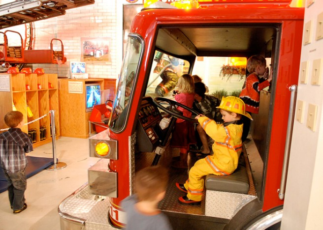children fire engine